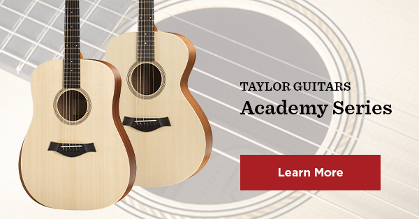Learning Guitars - Taylor Academy Series Acoustic Guitars