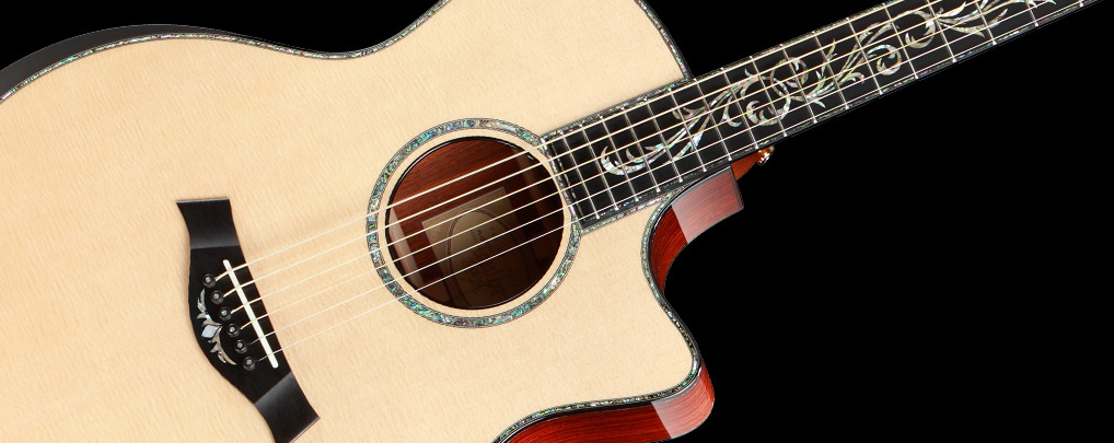 Browse Taylor guitars by guitar series.