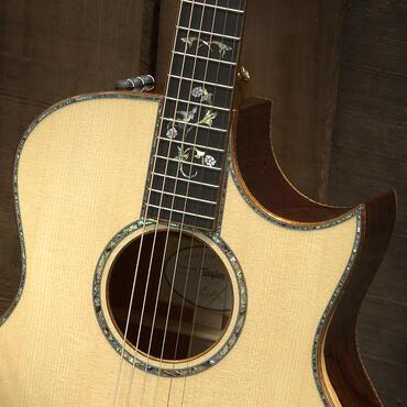 custom 10262 cocobolo grand symphony taylor guitars. Black Bedroom Furniture Sets. Home Design Ideas