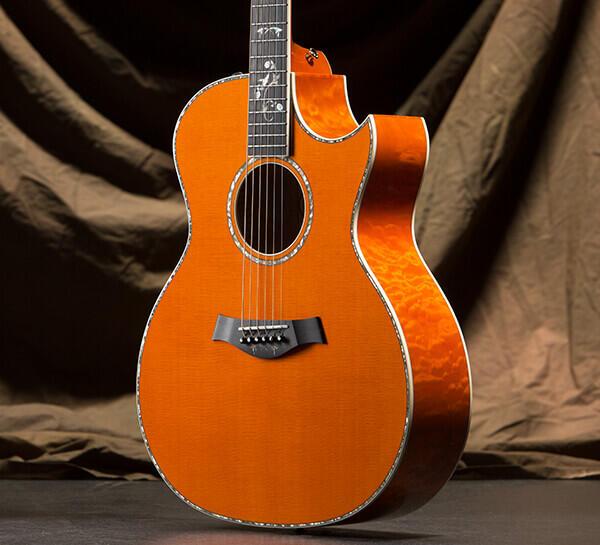 Custom 10336 Maple Aa Quilt Grand Auditorium Taylor Guitars