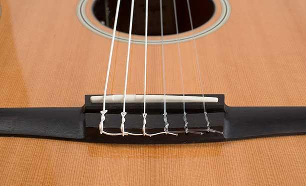changing nylon guitar strings taylor guitars. Black Bedroom Furniture Sets. Home Design Ideas
