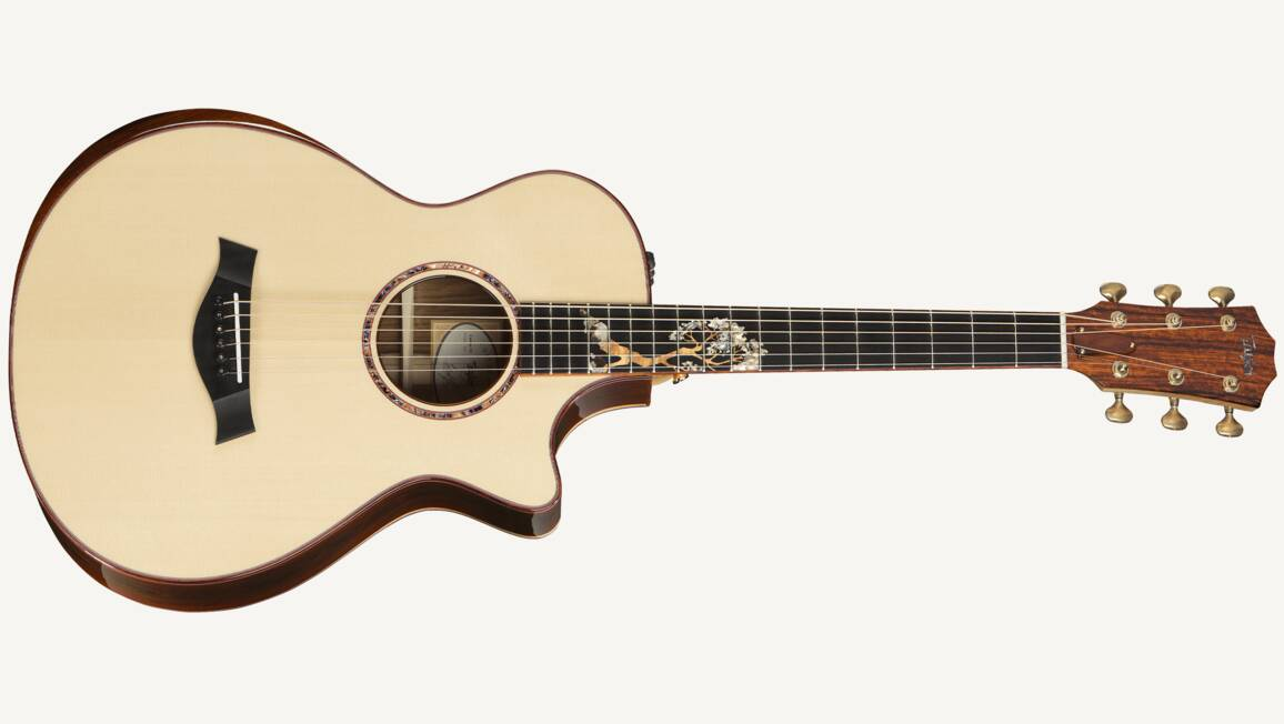 Custom 10031 12 fret cocobolo grand concert taylor guitars for Youtube certified mechanic shirt