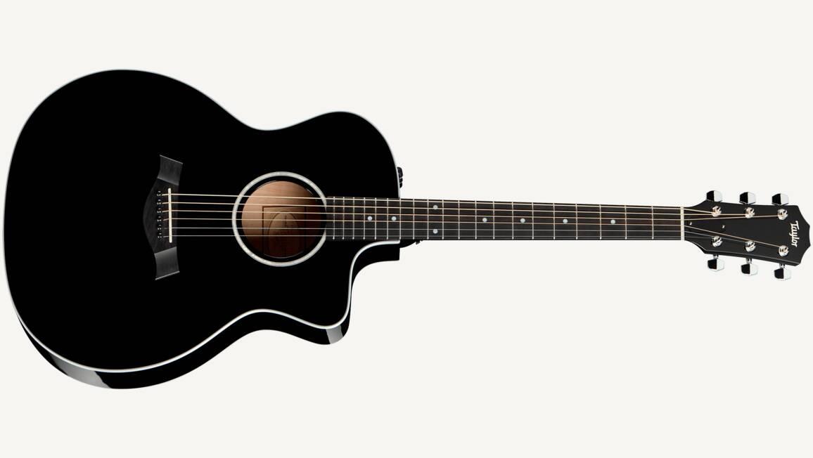 Taylor 214 Ce Blk : black acoustic guitar 214ce blk taylor guitars ~ Russianpoet.info Haus und Dekorationen