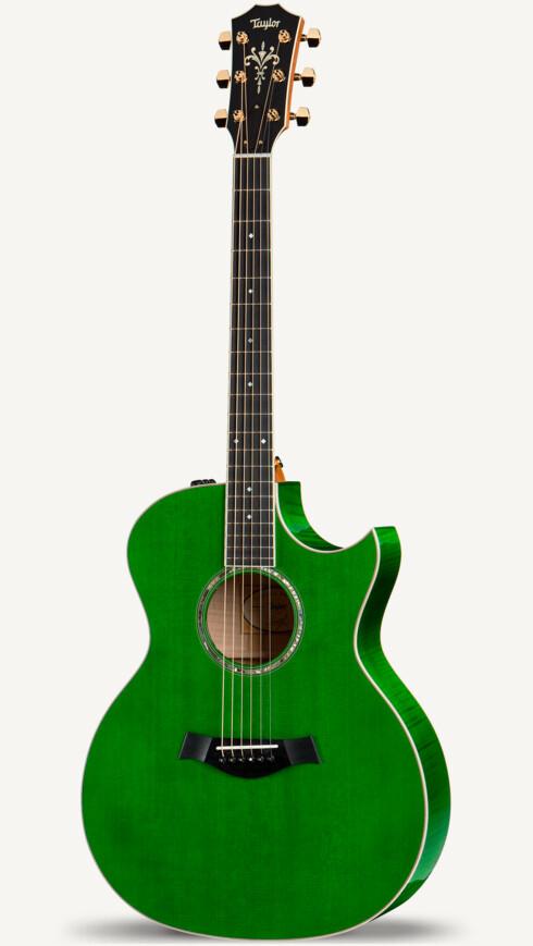 Custom 10435 Maple A Flame Grand Auditorium Taylor Guitars