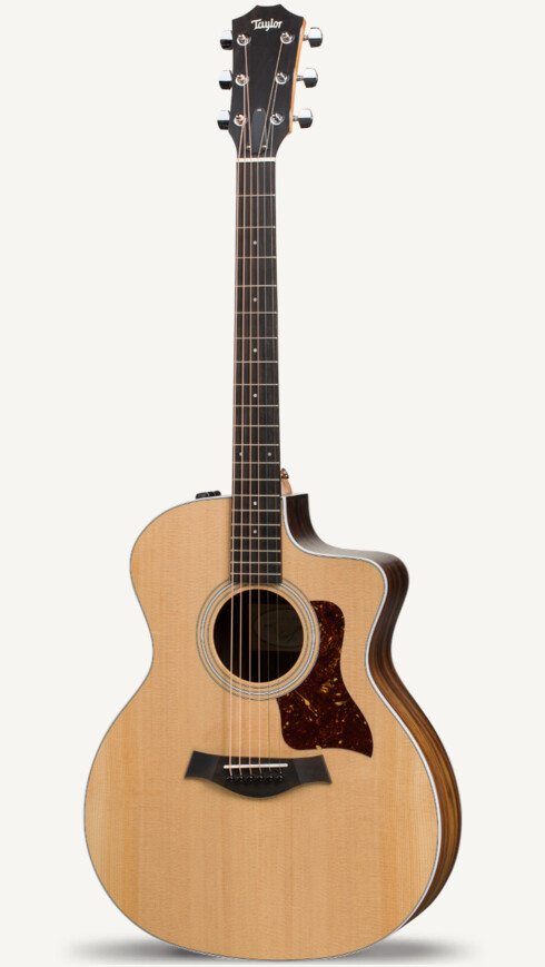 Taylor 200 Series 2017 214ce Grand Auditorium Acoustic-Electric Guitar Natural