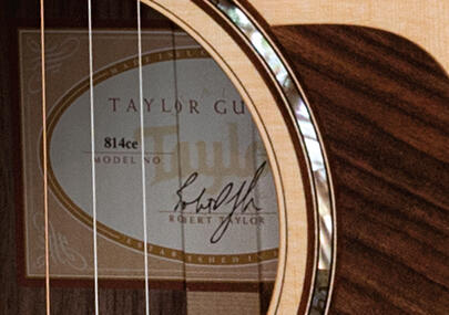 taylor guitars model numbers