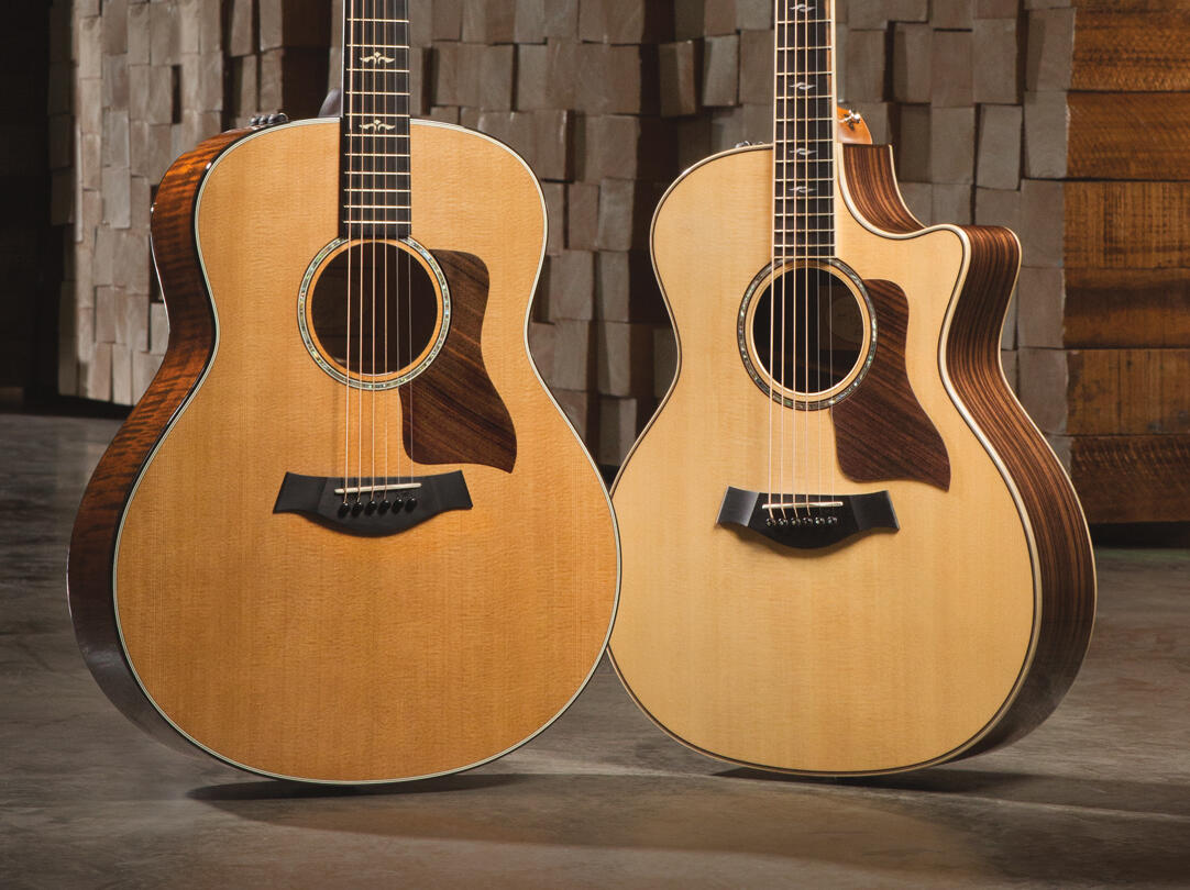 Taylor Guitars Line of Acoustic Guitars