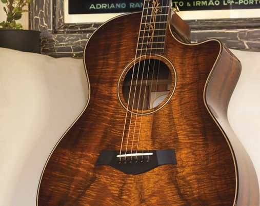 Taylor Acoustic Guitar Wallpaper Form Below